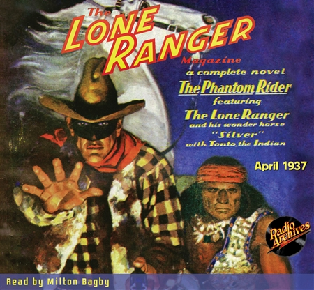 The Lone Ranger Magazine Audiobook #1 April 1937