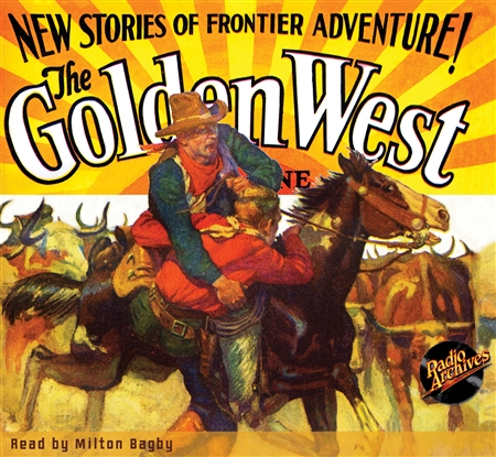 The Golden West Magazine Audiobook January 1929