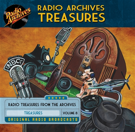 Radio Archives Treasures, Volume  8 - 20 hours