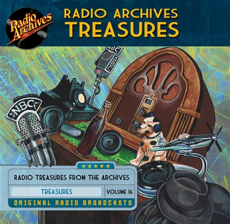 Radio Archives Treasures, Volume 16 - 20 hours