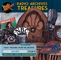 Radio Archives Treasures, Volume 25 - 20 hours