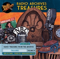Radio Archives Treasures, Volume 29 - 20 hours