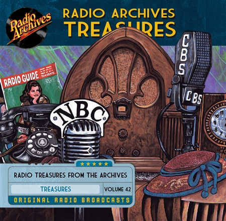 Radio Archives Treasures, Volume 42 - 20 hours