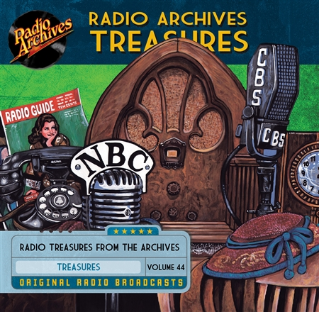 Radio Archives Treasures, Volume 44 - 20 hours
