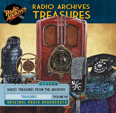 Radio Archives Treasures, Volume 58 - 20 hours