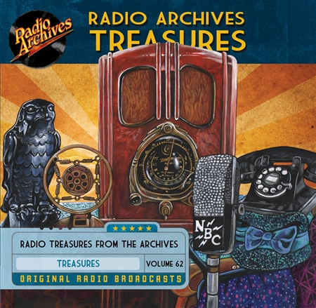 Radio Archives Treasures, Volume 62 - 20 hours