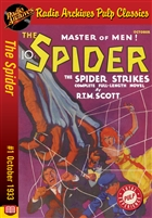 The Spider eBook #1 The Spider Strikes