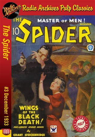 The Spider eBook #3 Wings of the Black Death