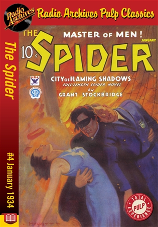 The Spider eBook #4 City of Flaming Shadows