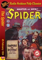 The Spider eBook #5 Empire of Doom