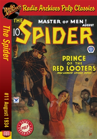 The Spider eBook #11 Prince of the Red Looters