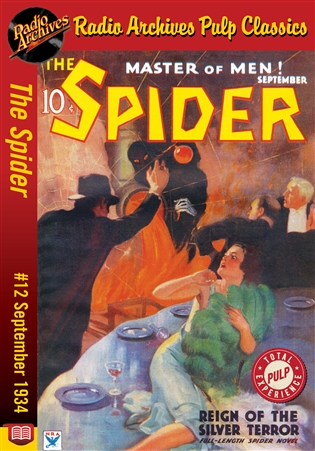 The Spider eBook #12 Reign of the Silver Terror
