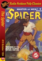 The Spider eBook #13 Builders of the Black Empire