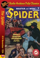 The Spider eBook #14 Death's Crimson Juggernaut