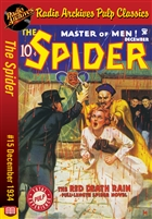 The Spider eBook #15 The Red Death Rain