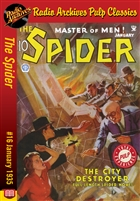 The Spider eBook #16 The City Destroyer