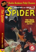 The Spider eBook #17 The Pain Emperor