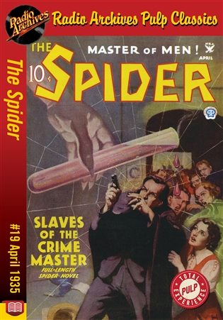 The Spider eBook #19 Slaves of the Crime Master