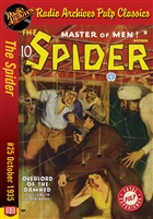 The Spider eBook #25 Overlord of the Damned