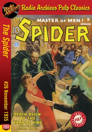 The Spider eBook #26 Death Reign of the Vampire King
