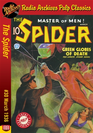 The Spider eBook #30 Green Globes of Death