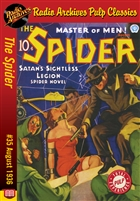The Spider eBook #35 Satan's Sightless Legion