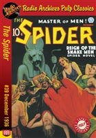 The Spider eBook #39 Reign of the Snake Men
