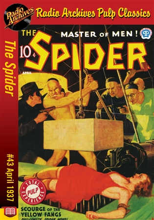 The Spider eBook #43 Scourge of the Yellow Fangs
