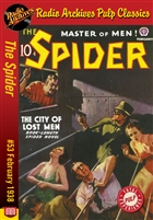 The Spider eBook #53 The City of Lost Men