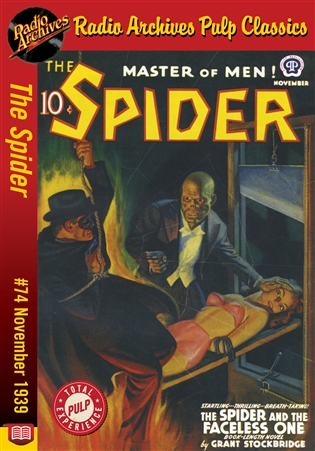 The Spider eBook #74 The Spider and the Faceless One