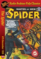 The Spider eBook #75 Satan's Murder Machines