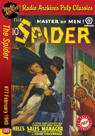 The Spider eBook #77 Hell's Sales Manager