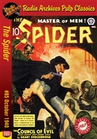The Spider eBook #85 The Council of Evil