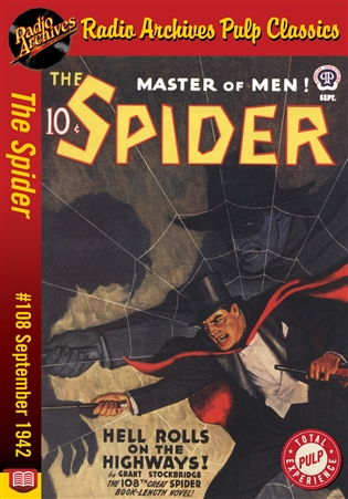 The Spider eBook #108 Hell Rolls on the Highways!