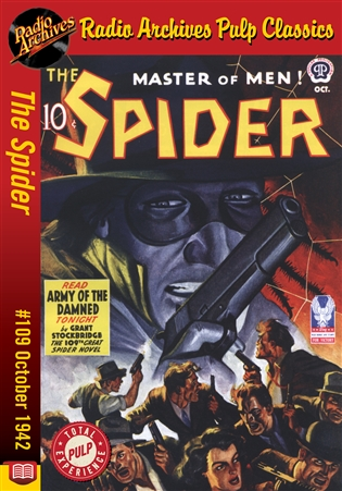 The Spider eBook #109 Army of the Damned