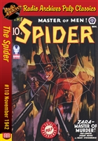 The Spider eBook #110 Zara-Master of Murder