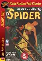 The Spider eBook #113 Secret City of Crime
