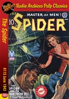 The Spider eBook #115 The Spider and the Man from Hell