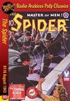 The Spider eBook #116 The Criminal Horde