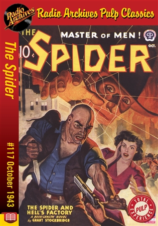 The Spider eBook #117 The Spider and Hell's Factory