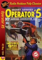 Operator #5 eBook #2 The Invisible Empire