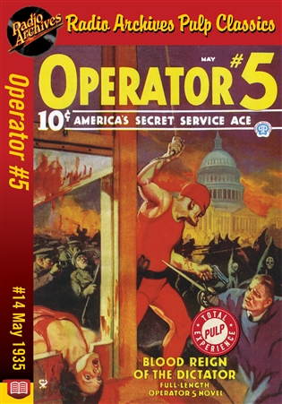 Operator #5 eBook #14 Blood Reign Of The Dictator