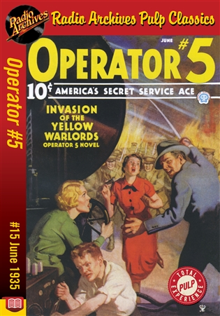 Operator #5 eBook #15 Invasion of the Yellow Warlords