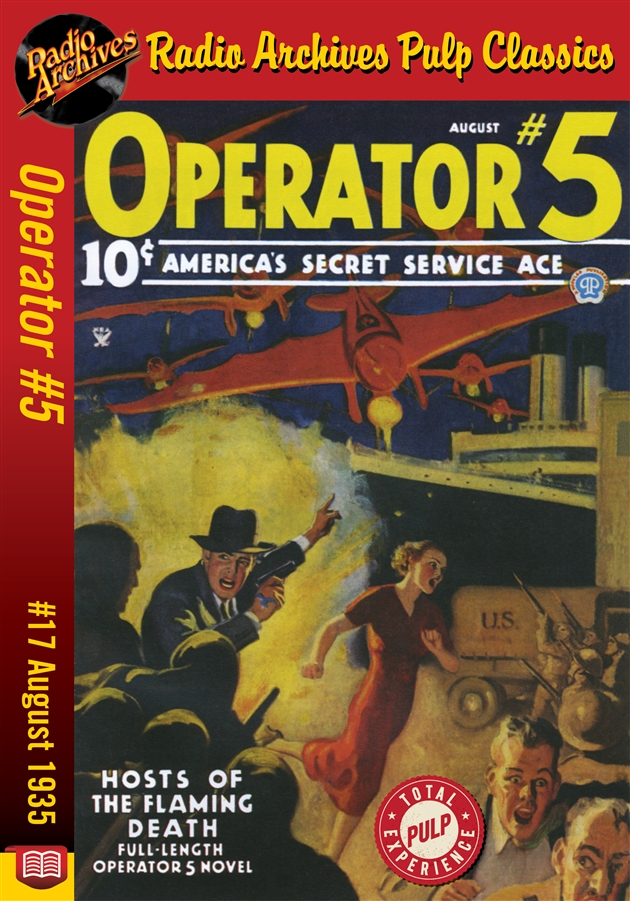 Operator #5 eBook #17 Hosts of the Flaming Death - [Download] #RE135