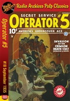 Operator #5 eBook #18 Invasion of the Crimson Death Cult