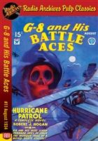 G-8 and His Battle Aces eBook # 11 August 1934 The Hurricane Patrol