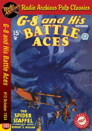 G-8 and His Battle Aces eBook #013 October 1934 The Spider Staffel