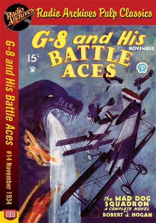 G-8 and His Battle Aces eBook # 14 November 1934 The Mad Dog Squadron