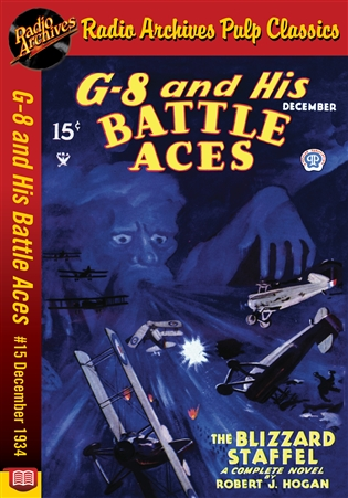 G-8 and His Battle Aces eBook # 15 December 1934 The Blizzard Staffel