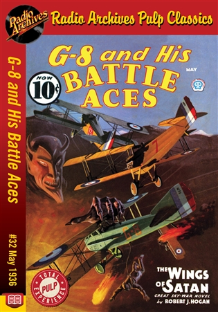 G-8 and His Battle Aces eBook #32 May 1936 The Wings of Satan